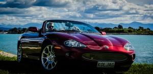 1996 Jaguar XK8 Convertible Hire, Nelson