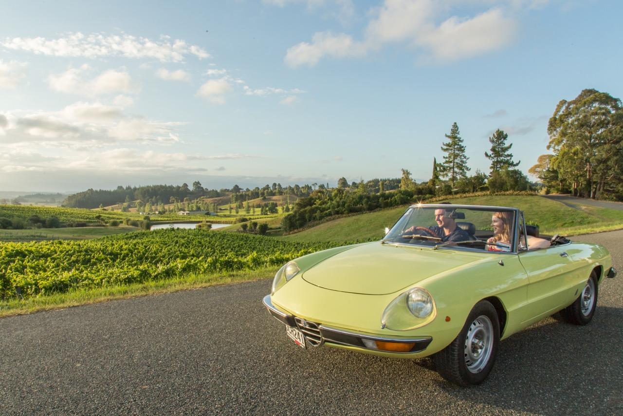 1975 Alfa Romeo Spider Series 2 Hire Nelson
