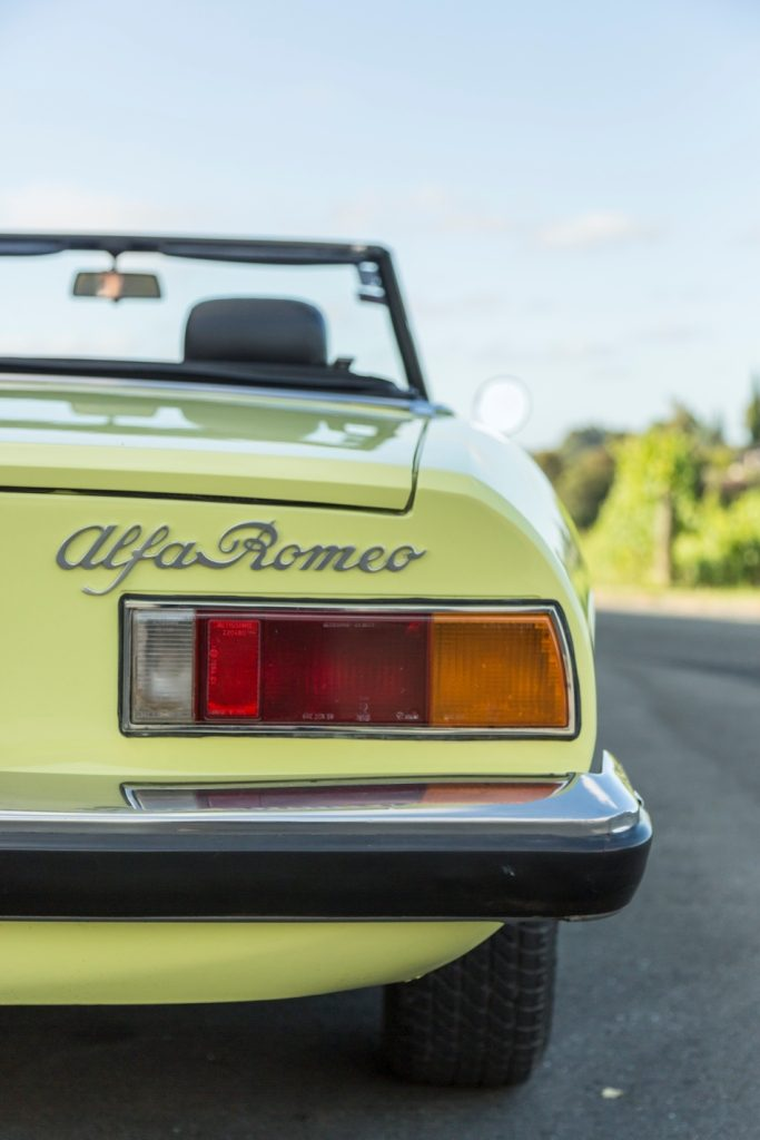 Alfa Romeo Spider S2 Rear
